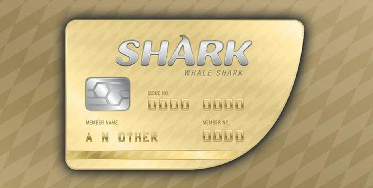 Wirtualna karta gotówkowa GTA Online Whale Shark Cash Card (DLC)