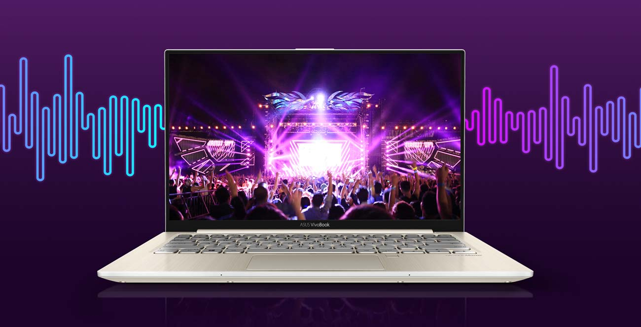 ASUS VivoBook S13 audio asus sonicmaster audio