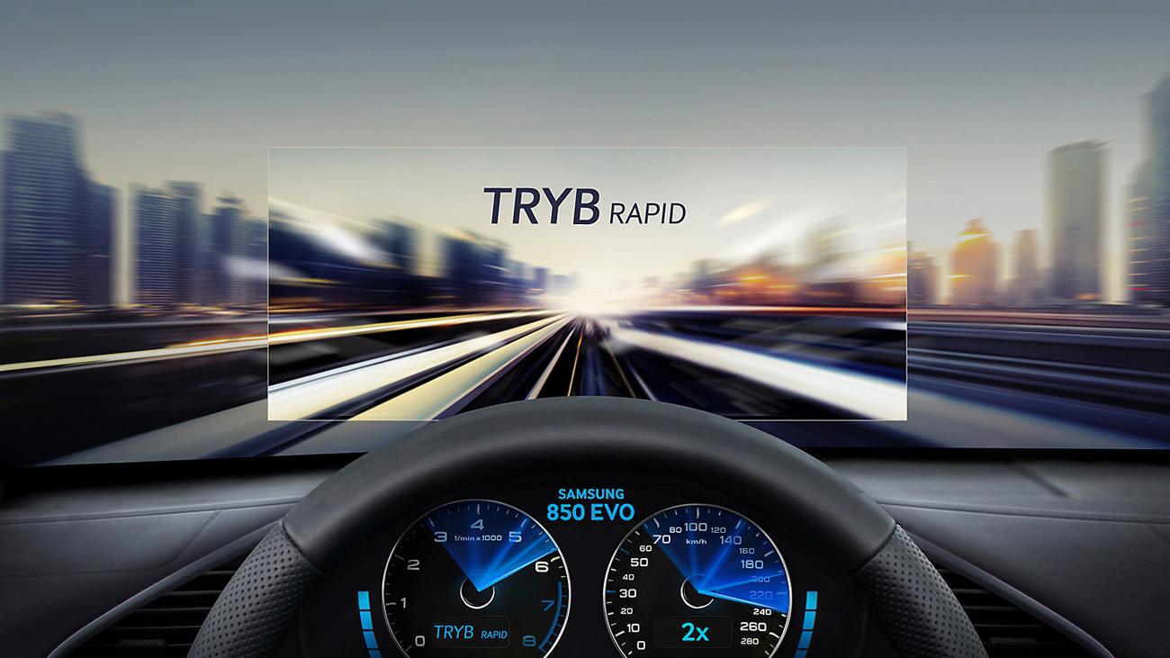 Samsung 850 EVO Tryb RAPID