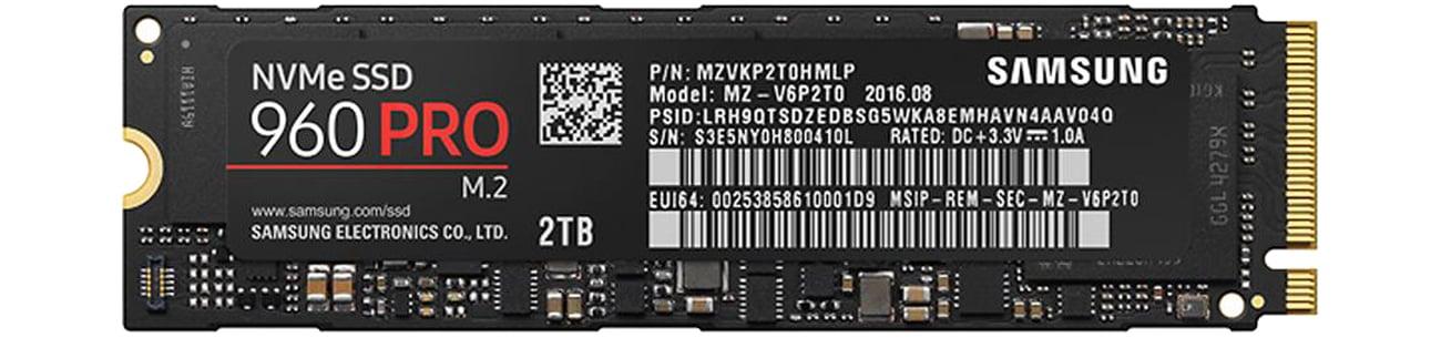 Samsung 960 Pro M.2 2280 2TB