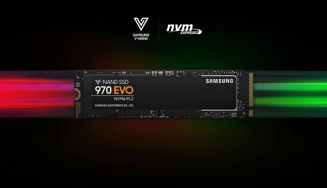 Samsung SSD 970 EVO NVMe M.2 Dysk SSD, który daje nowe możliwości
