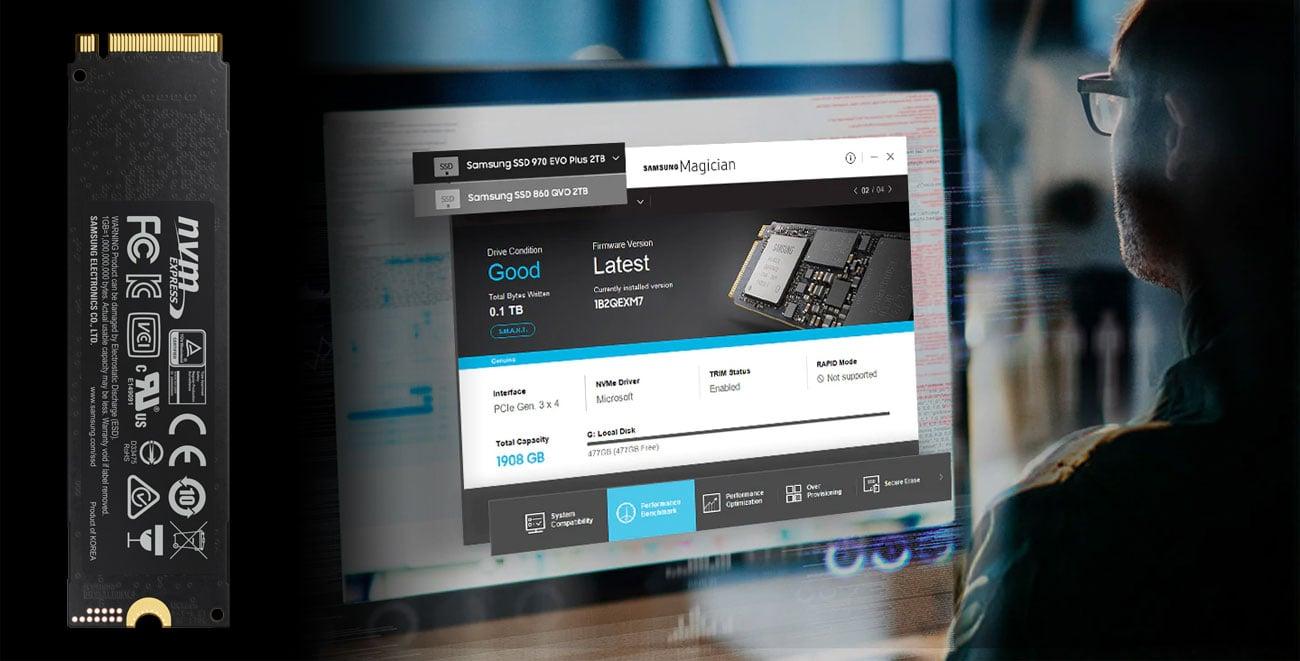 Samsung 970 EVO Plus Oprogramowanie Samsung Magician