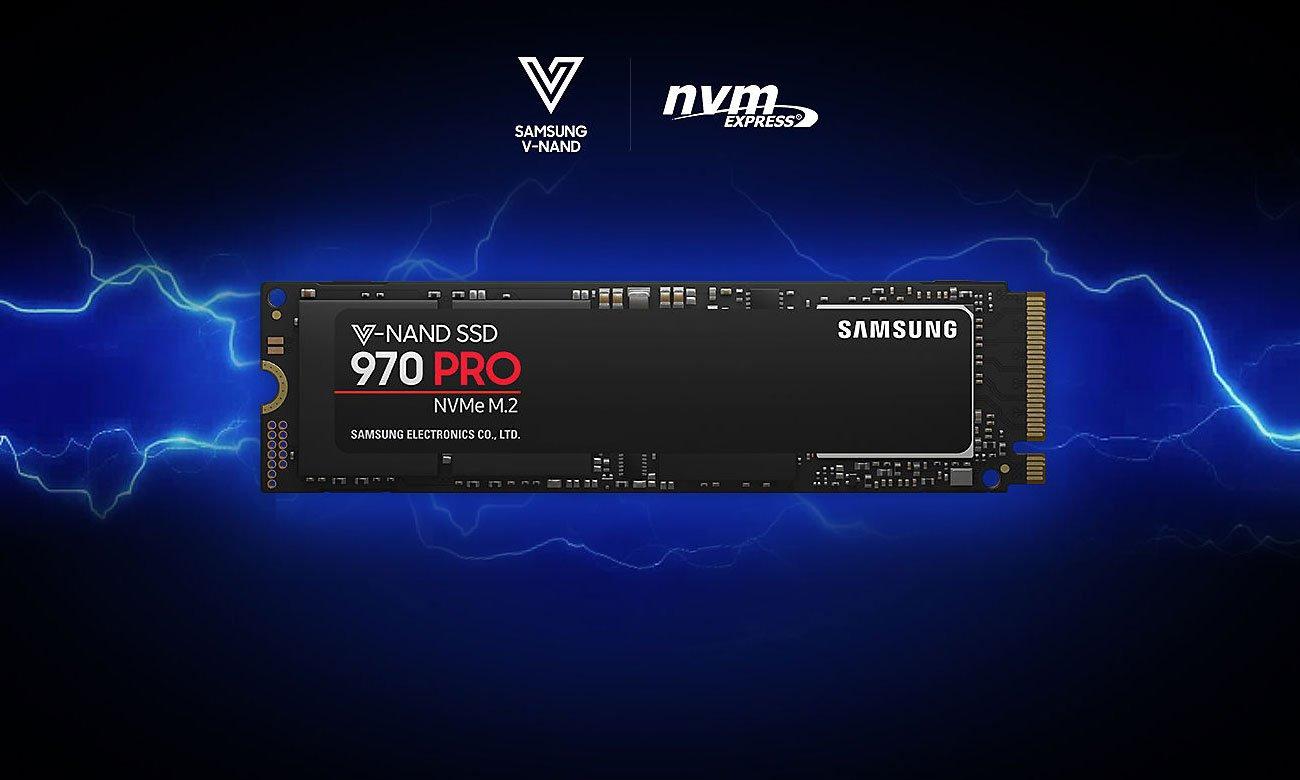 Dysk SSD 970 PRO NVMe M.2 512GB Dysk SSD, który wyprzedza inne