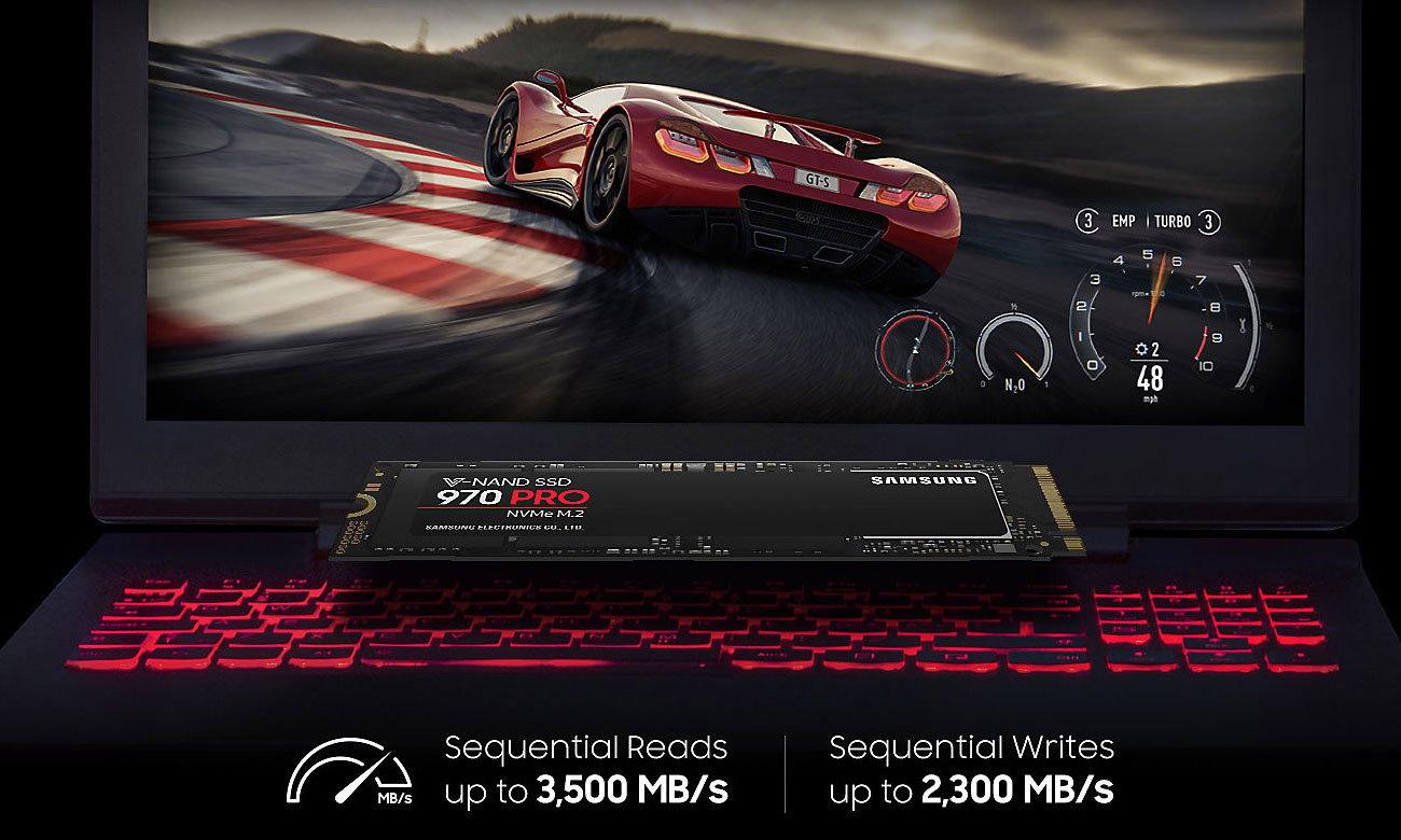 Dysk SSD 970 PRO NVMe M.2 512GB