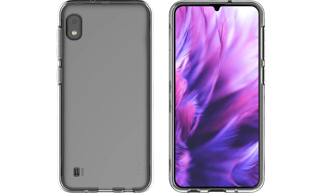 Etui A Cover do Samsung Galaxy A10 przezroczysty GP-FPA105KDATW