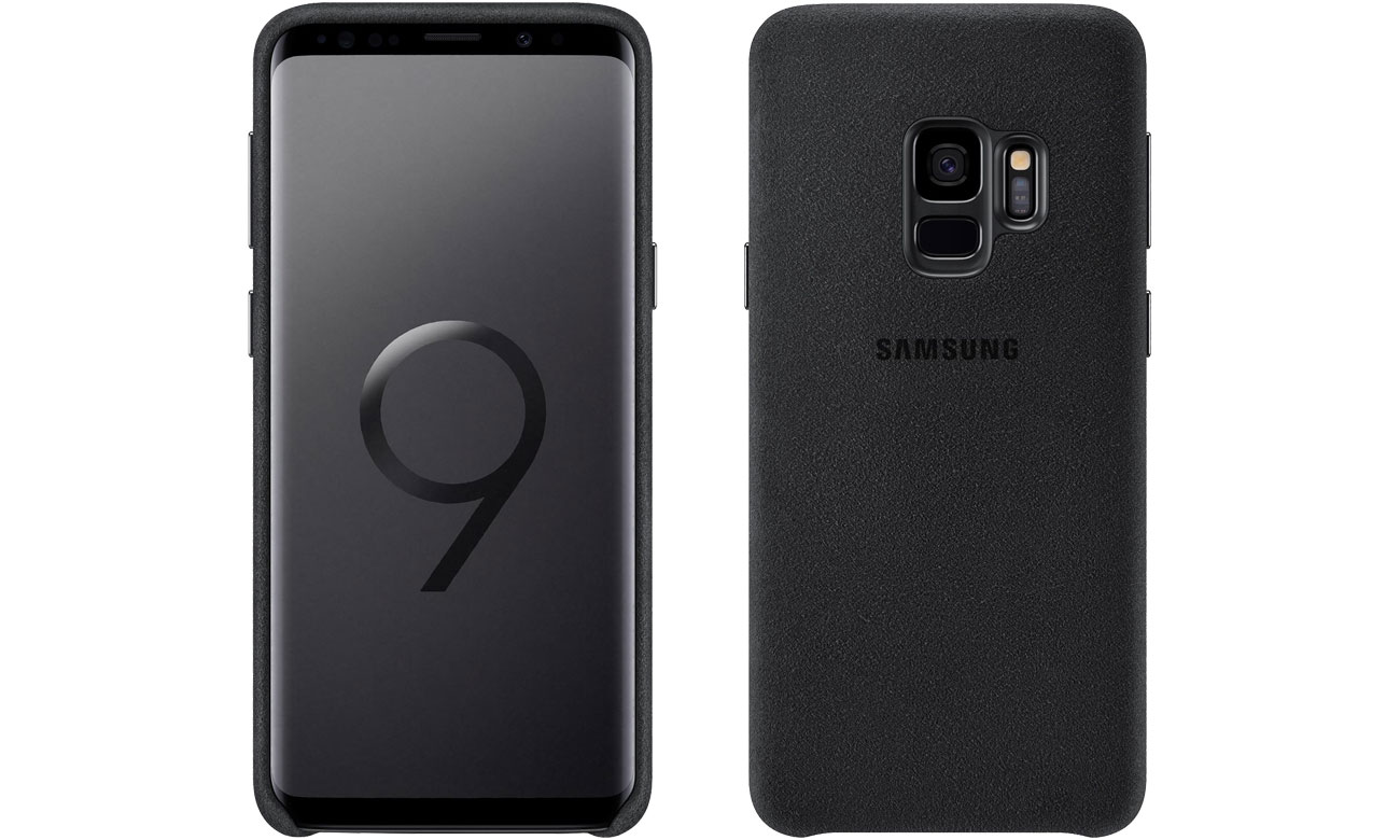 Etui Samsung Alcantara Cover do Galaxy S9 Black EF-XG960ABEGWW