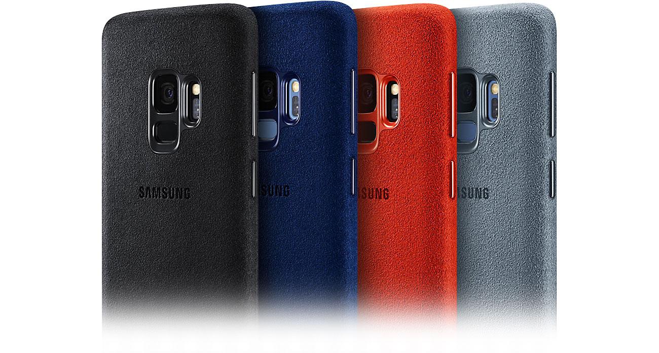 Etui Alcantara Cover do Samsung Galaxy S9 Ekskluzywny materiał