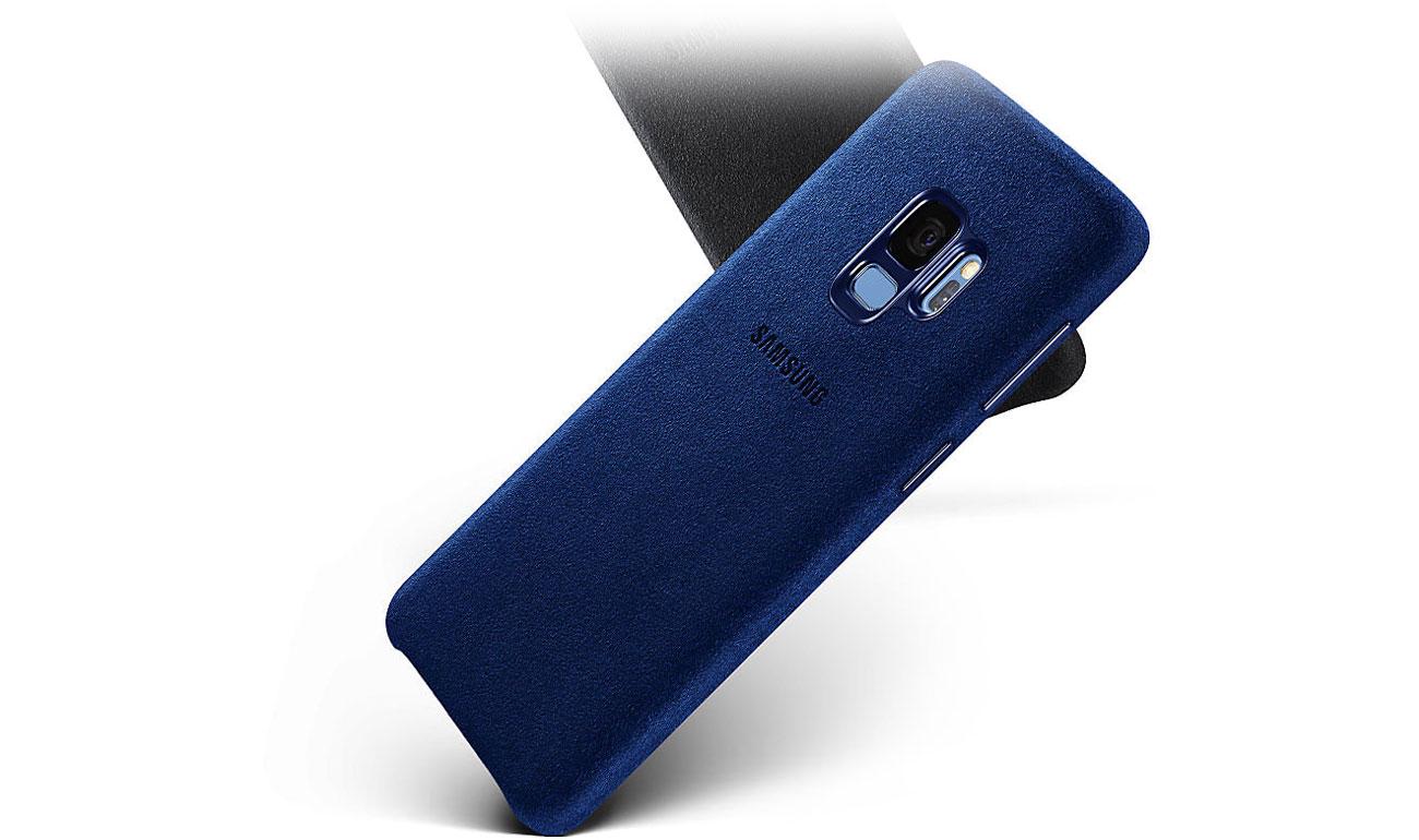 Etui Alcantara Cover do Samsung Galaxy S9 Ochrona przed wstrząsami