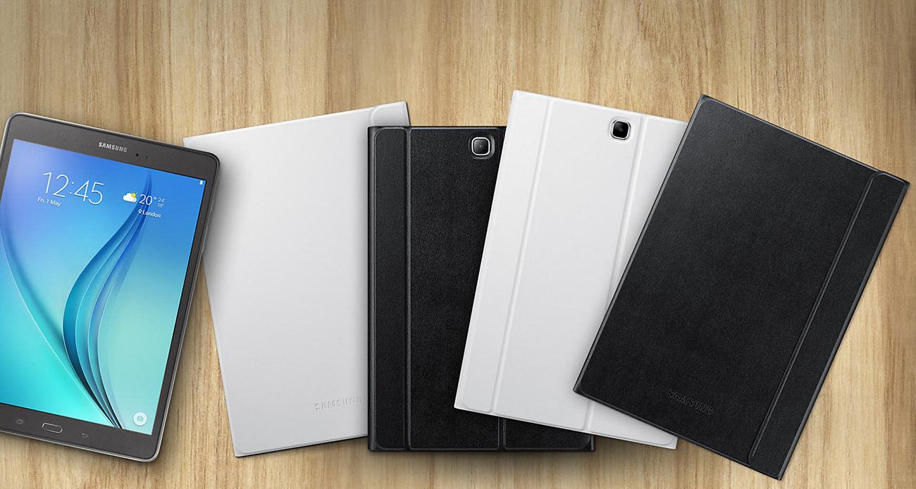 """Etui na tablet Samsung Book Cover do Galaxy Tab A 10.1"""" czarny - elegancka konstrukcja"""