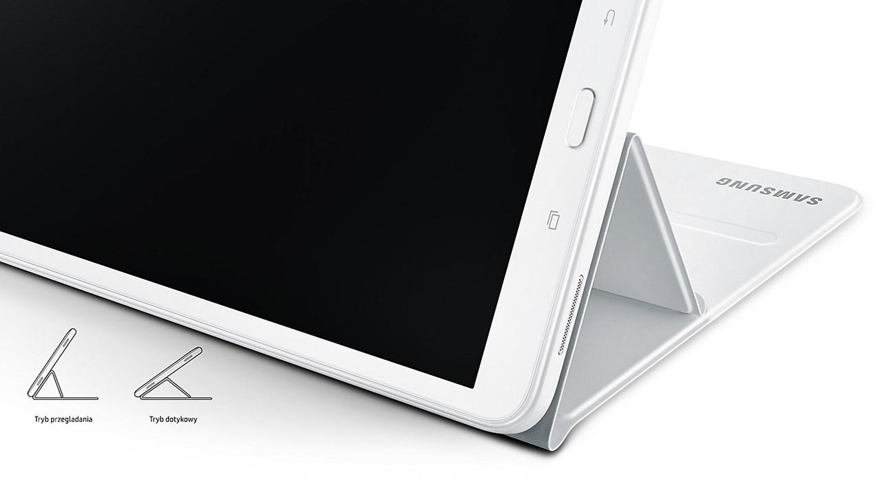 "Etui na tablet Samsung Book Cover do Galaxy Tab A 10.1"" czarny - funkcjonalność"