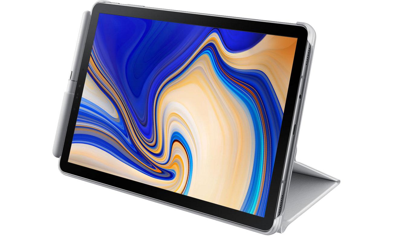 Samsung Book Cover do Galaxy Tab S4 szary Tryb podstawki