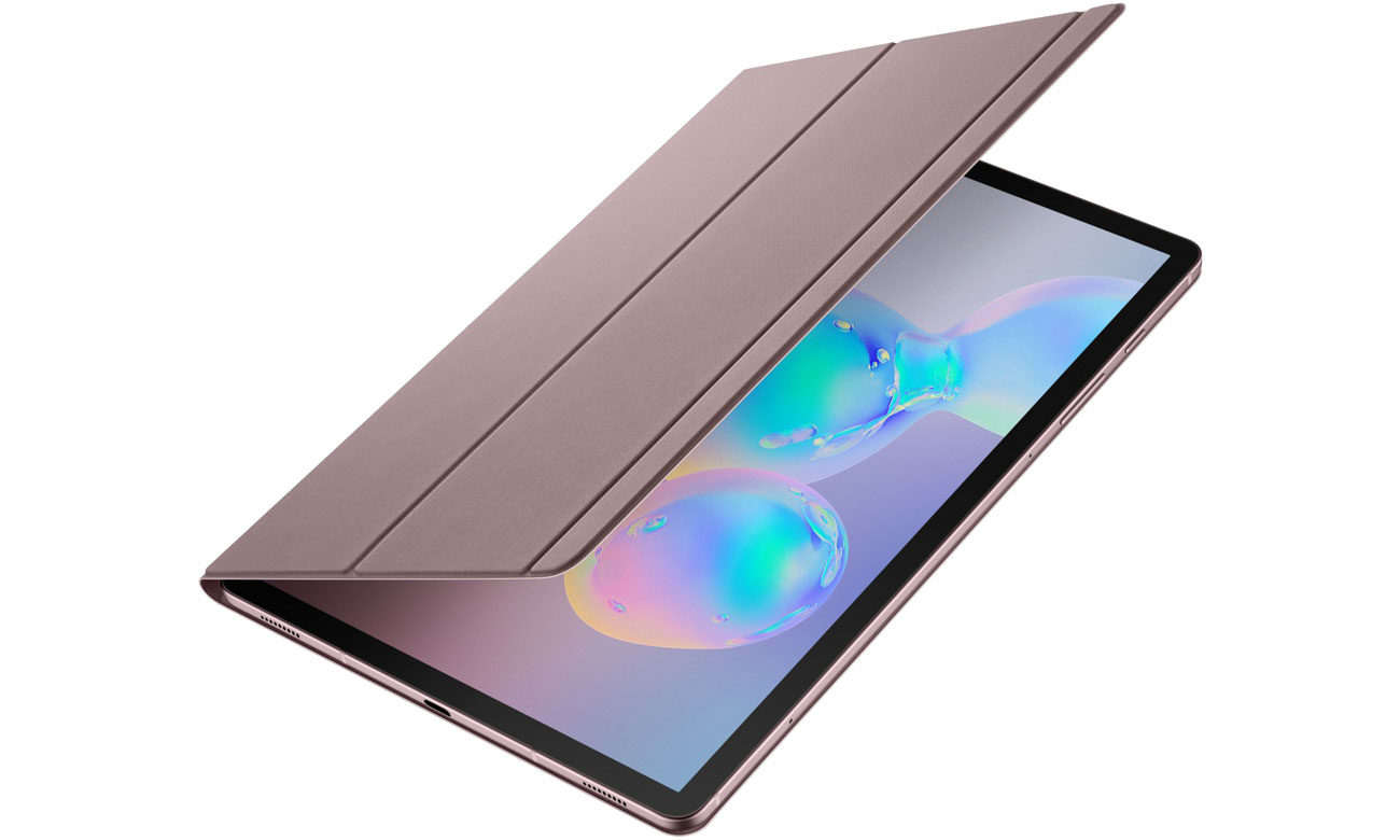 tui na tablet Samsung Book Cover do Galaxy Tab S6 szary EF-BT860PJEGWW