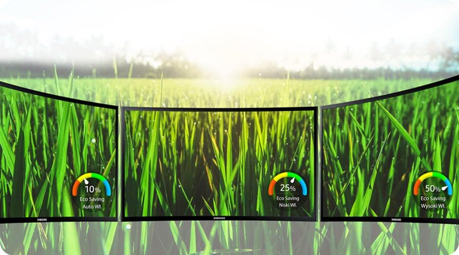 Samsung C32F391FWUX Curved tryb eco saving