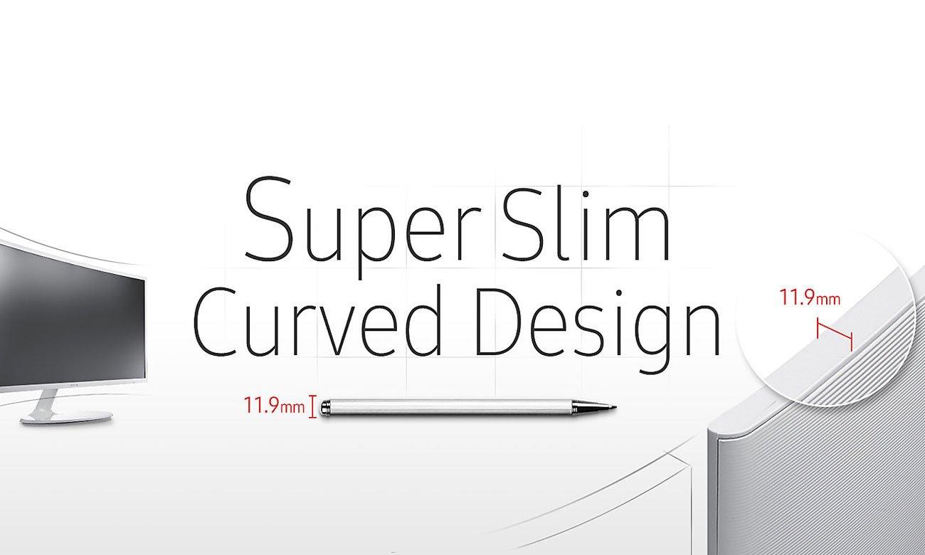 Samsung C32F391FWUX Curved tryb gry
