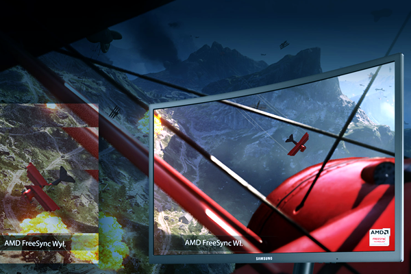 Samsung AMD FreeSync. Doskonale płynny obraz