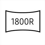 Samsung Mocno zakrzywiony ekran 1800R