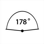 Samsung Szerokie kąty widzenia 178°/178°