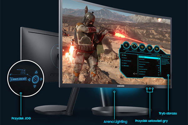Samsung Super Arena Gaming UX. Arena Gracza przy Twoim biurku