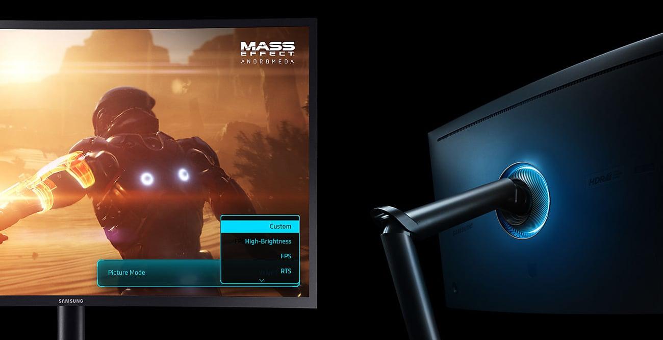 Samsung CHG70 Funkcje do gier