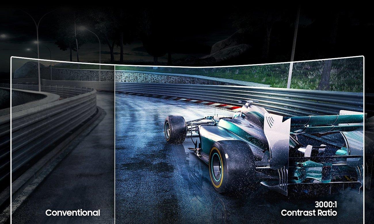 Samsung C43J890DKUX Curved Kontrast