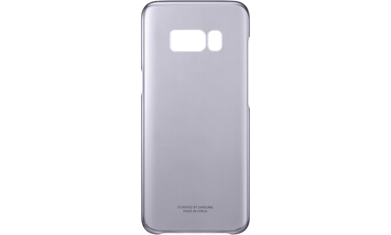 samsung clear cover do galaxy s8 fioletowy etui i. Black Bedroom Furniture Sets. Home Design Ideas