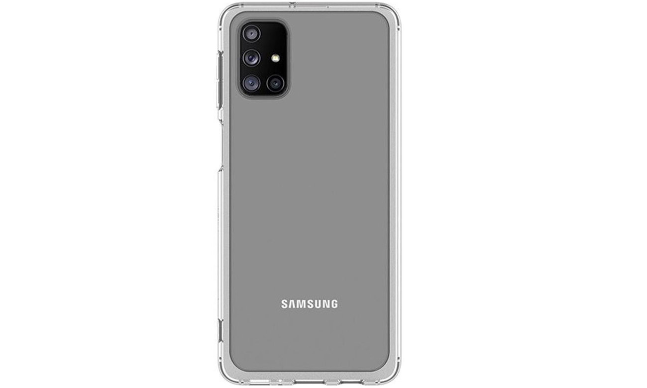 Etui Samsung Clear Cover do Galaxy M31s