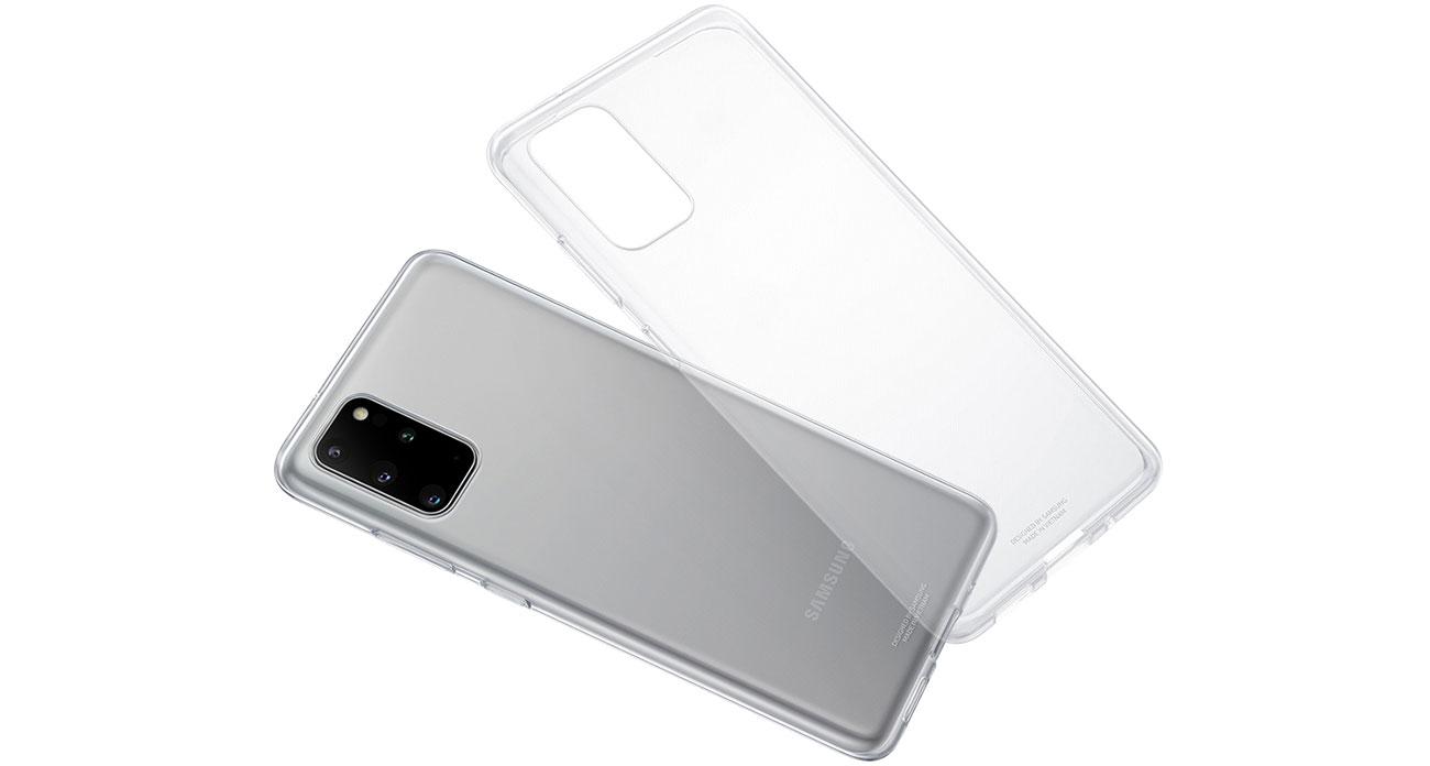 Etui Samsung Clear Cover do Galaxy S20+