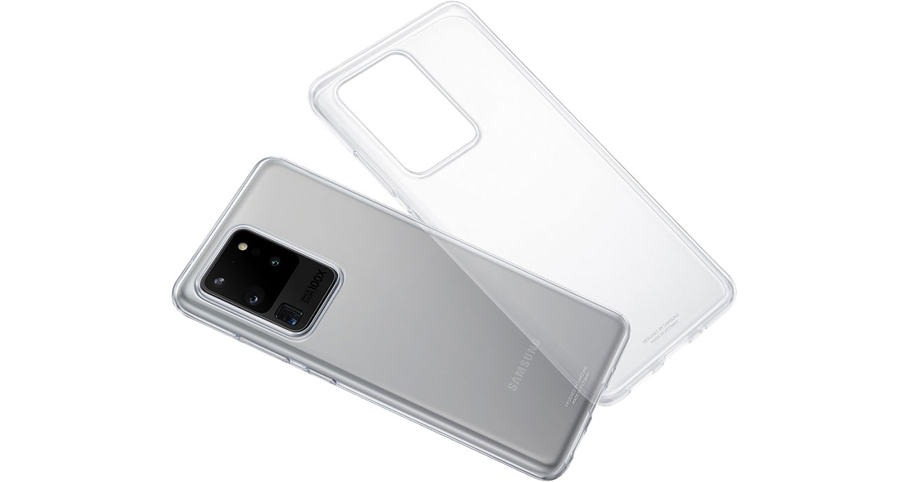 Etui Samsung Clear Cover do Galaxy S20+