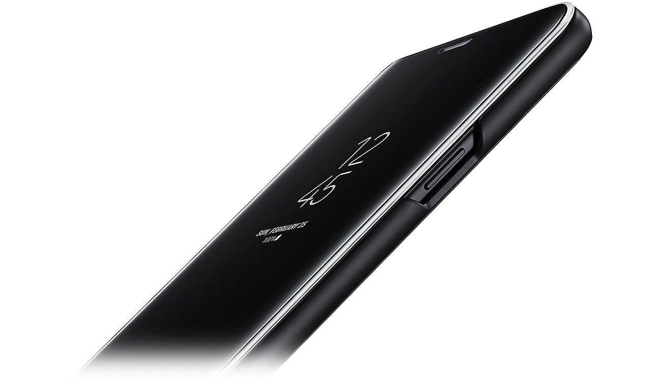 Clear View Standing Cover do Galaxy S9+ Dopasowanie i ochrona