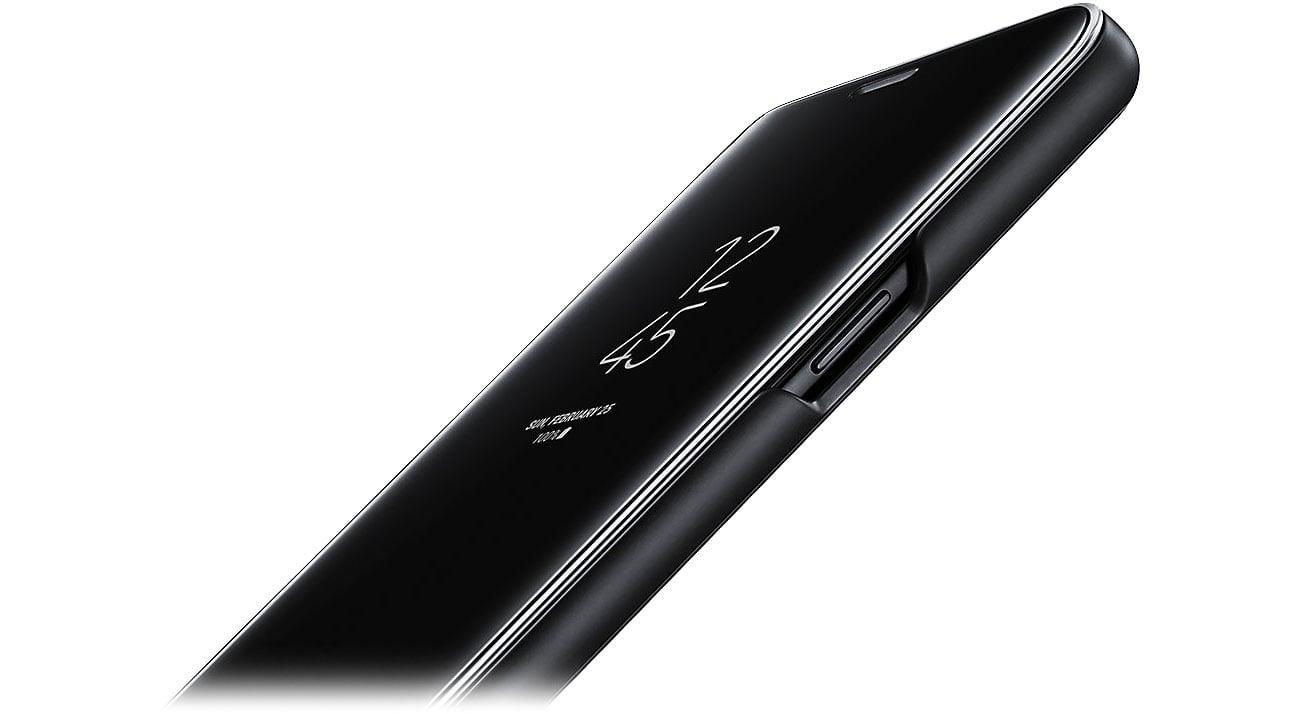 Clear View Standing Cover do Galaxy S9 Dopasowanie i ochrona