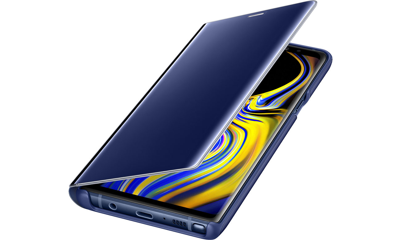 Etui Clear View Standing Cover do Galaxy Note 9 Blue Niebieskie