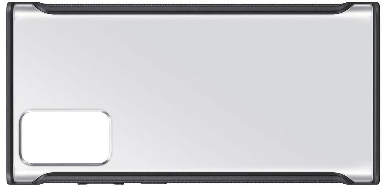Etui Samsung Clear Protective Cover do Galaxy Note 20 Czarne