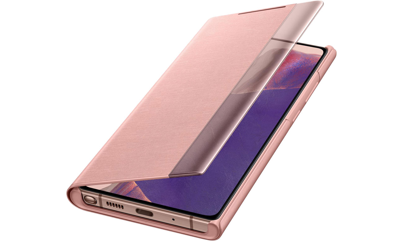 Samsung Clear View Cover do Galaxy Note 20