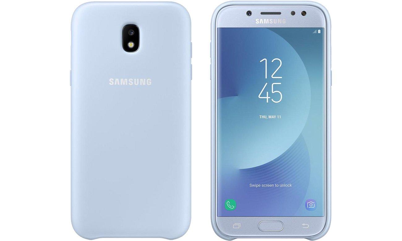 sale retailer 54cdd 26904 Samsung Dual Layer Cover do Galaxy J5 (2017) Blue - Etui i obudowy na  smartfony - Sklep komputerowy - x-kom.pl