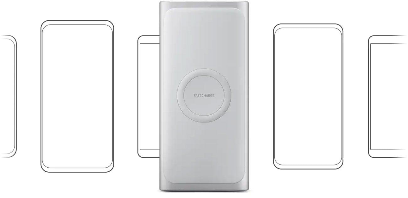 Samsung Wireless Battery Pack Zgodność z Qi