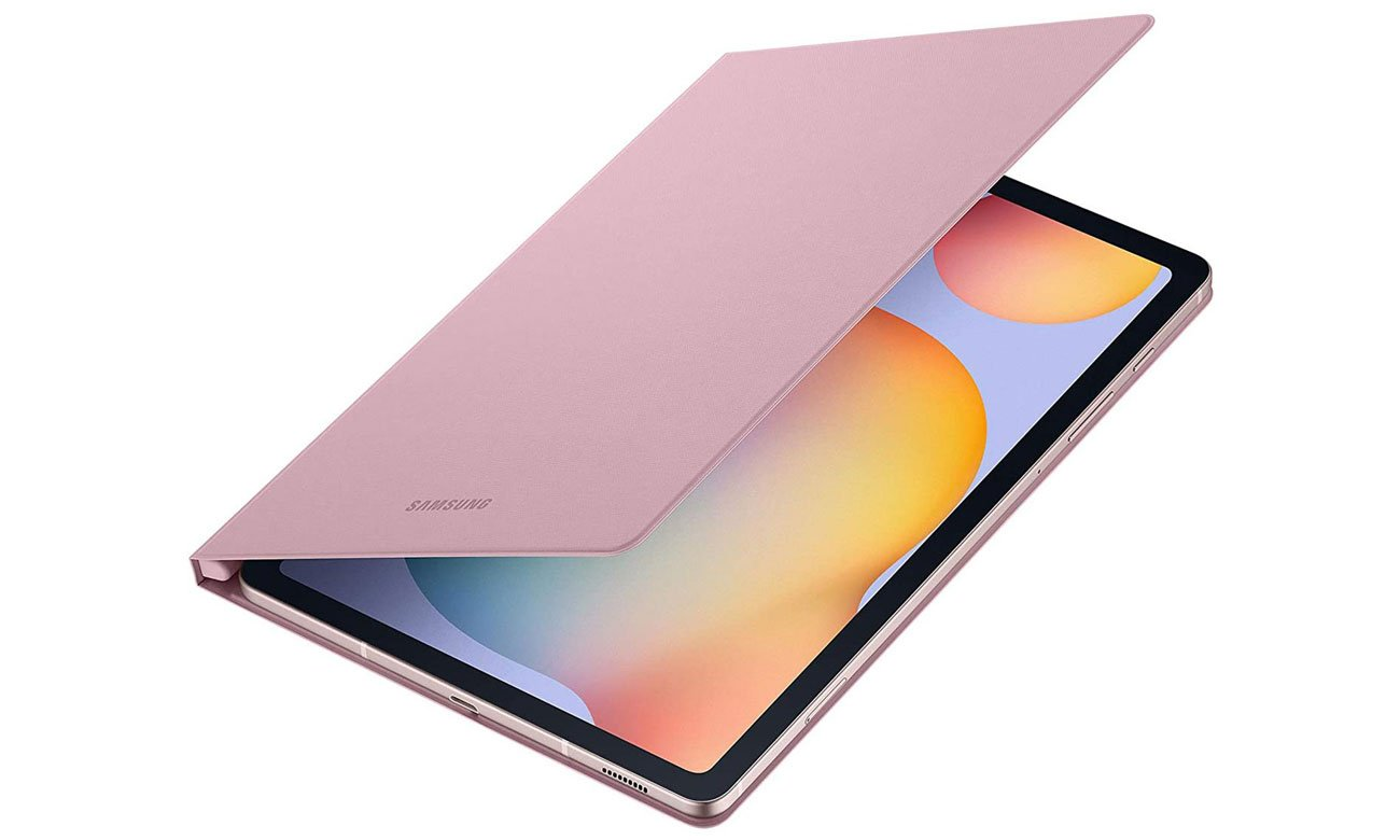 Etui Samsung Book Cover do Galaxy Tab S6 Lite Różowe