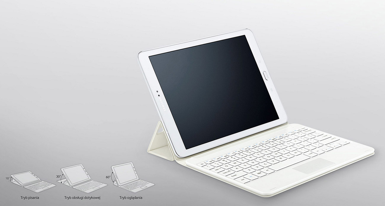 Klawiatura Book Cover Galaxy Tab S2 wygoda