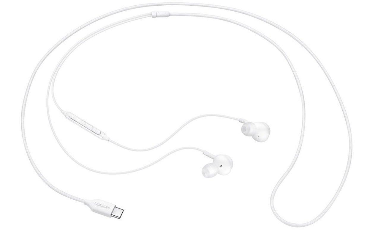 Słuchawki Samsung AKG Type-C Białe
