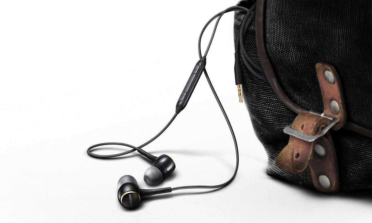 Słuchawki Samsung In-ear przewodowe czarne
