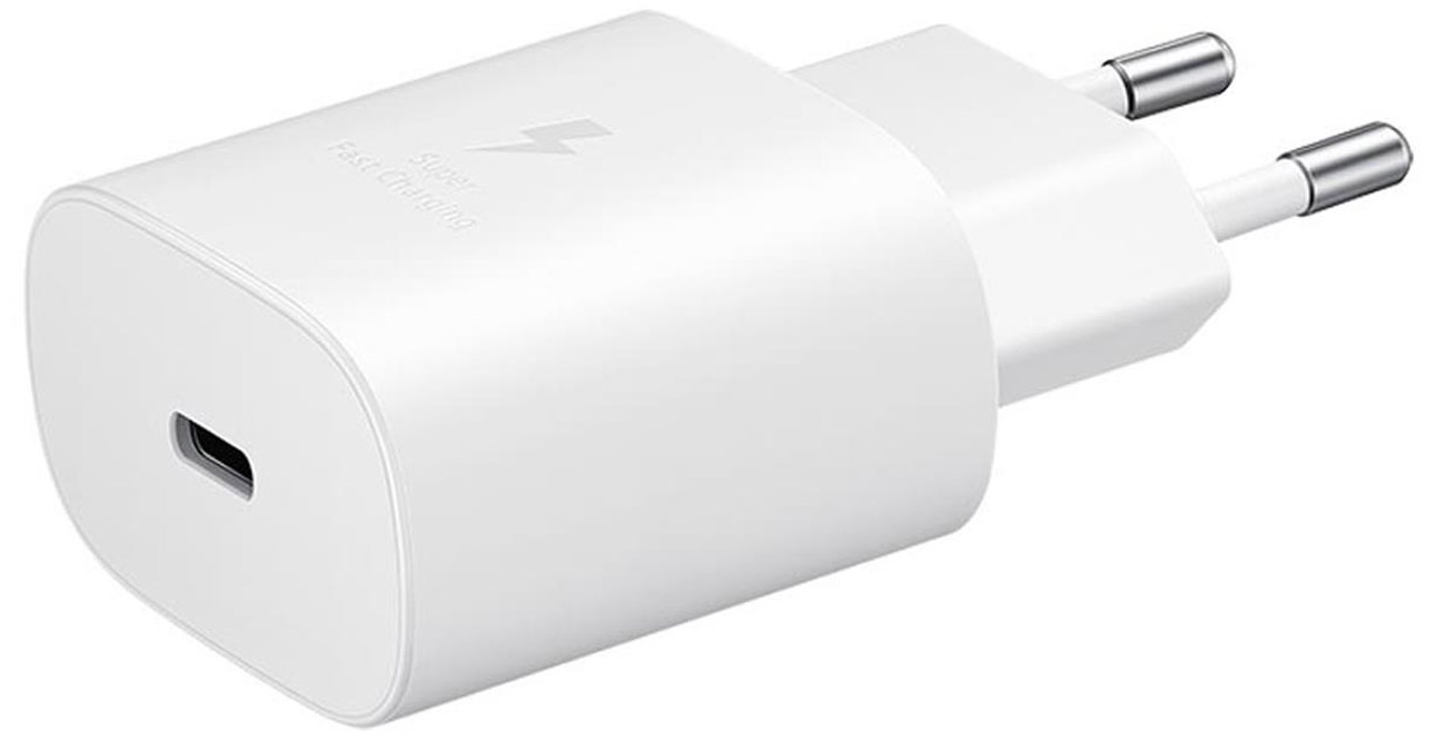 Ładowarka sieciowa Samsung 25W USB-C Biała