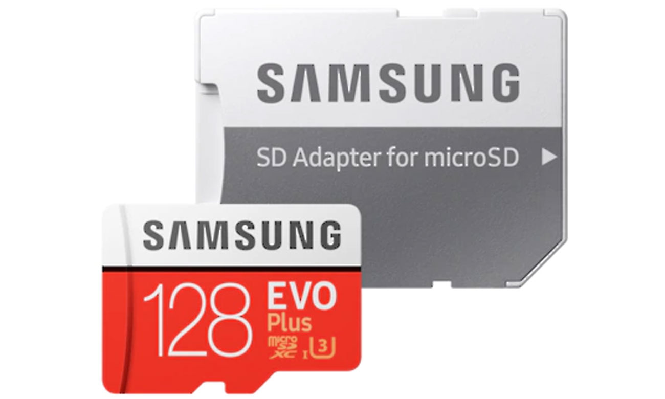 Karta pamięci microSDXC Samsung Evo Plus 128GB