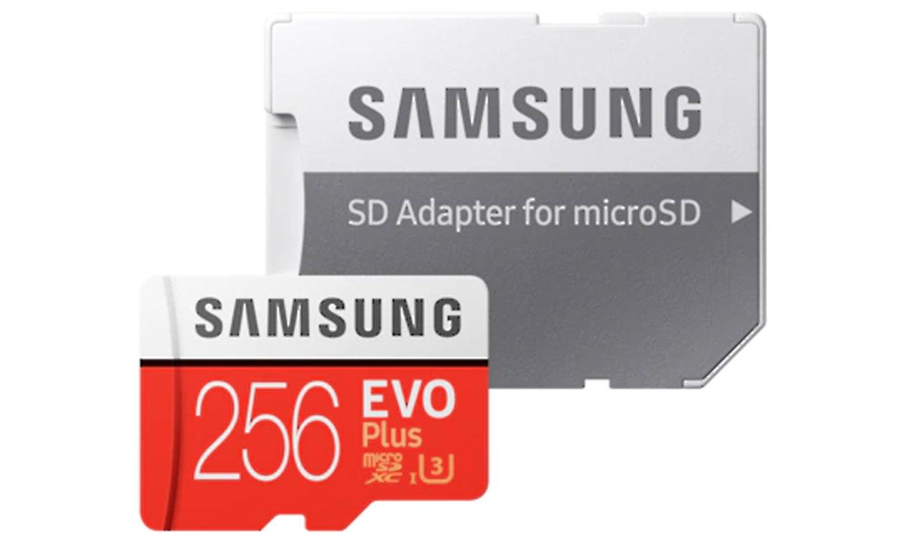 Karta pamięci microSDXC Samsung Evo Plus 256GB