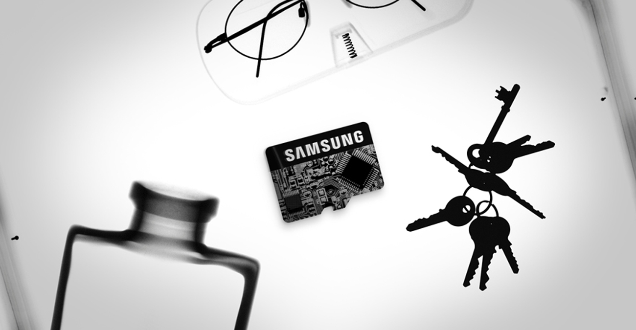 Samsung 64GB microSDXC Evo Odporna na promieniowanie