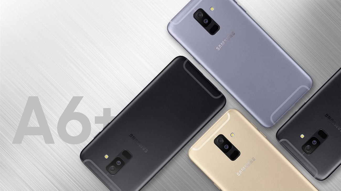 Samsung Galaxy A6+ A605F obudowa ze szkła i metalu