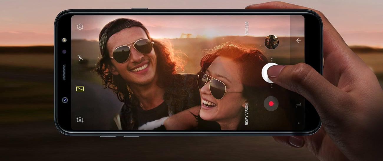 Samsung Galaxy A6+ A605F podwójny aparat 16 + 5 Mpix