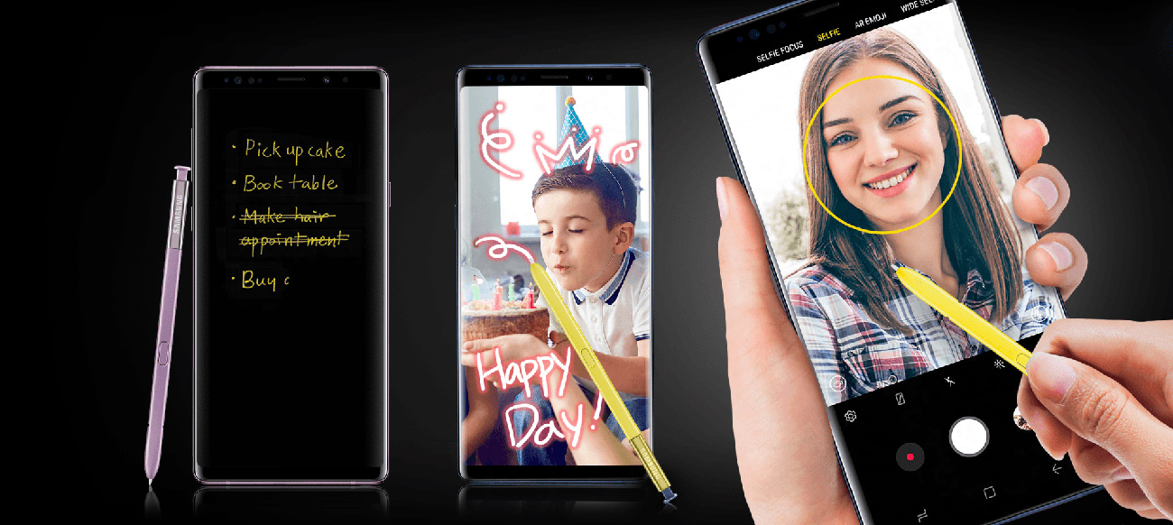 Samsung Galaxy Note 9 rysik s Pen