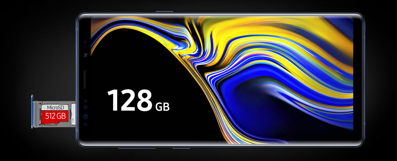 Samsung Galaxy Note 9 pamięc 128 Gb