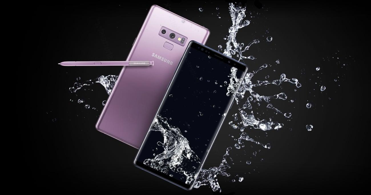 Samsung Galaxy Note 9 wydajność czytnik linii papilarnych ip68