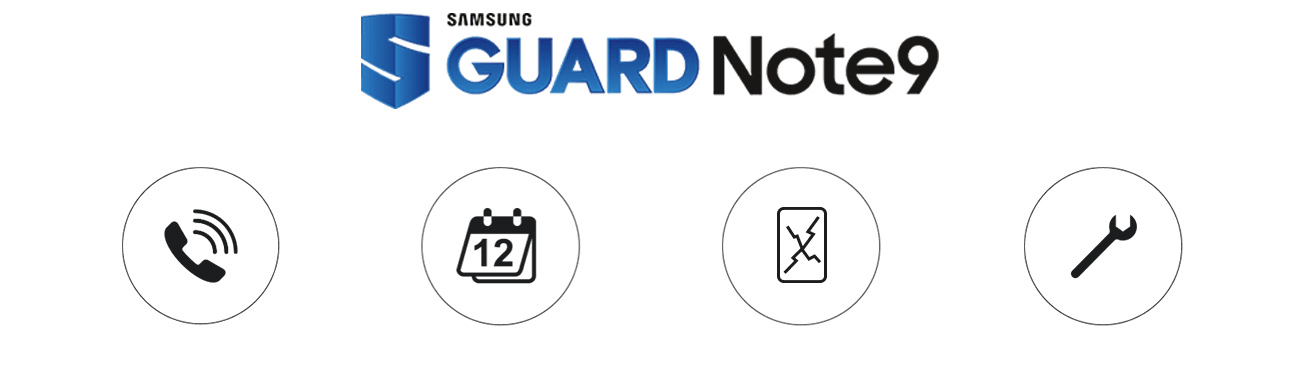 Samsung Galaxy Note 9 guard