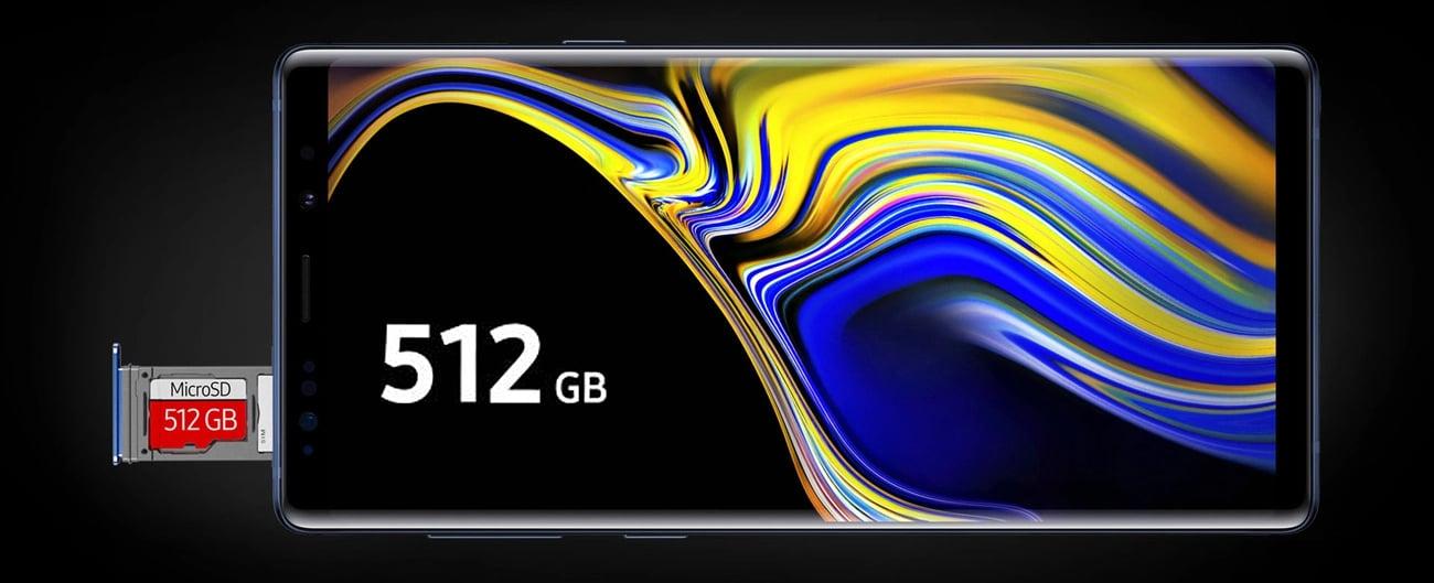 Samsung Galaxy Note 9 pamięc 512 Gb